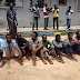 Shocking! These 22 suspected kidnappers in arrested in Kano state by police...photos