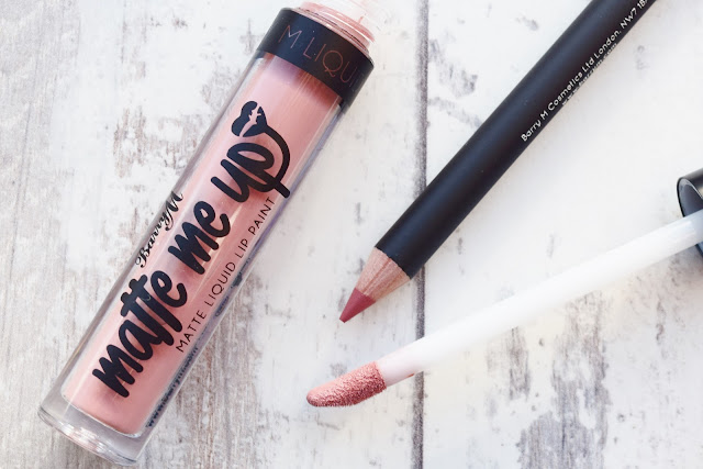 Barry M Matte Me Up Lip Kit in Pose