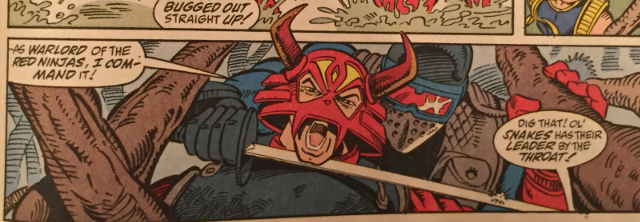 Marvel Comics #123, Snake Eyes, Red Ninja, Ninja Force