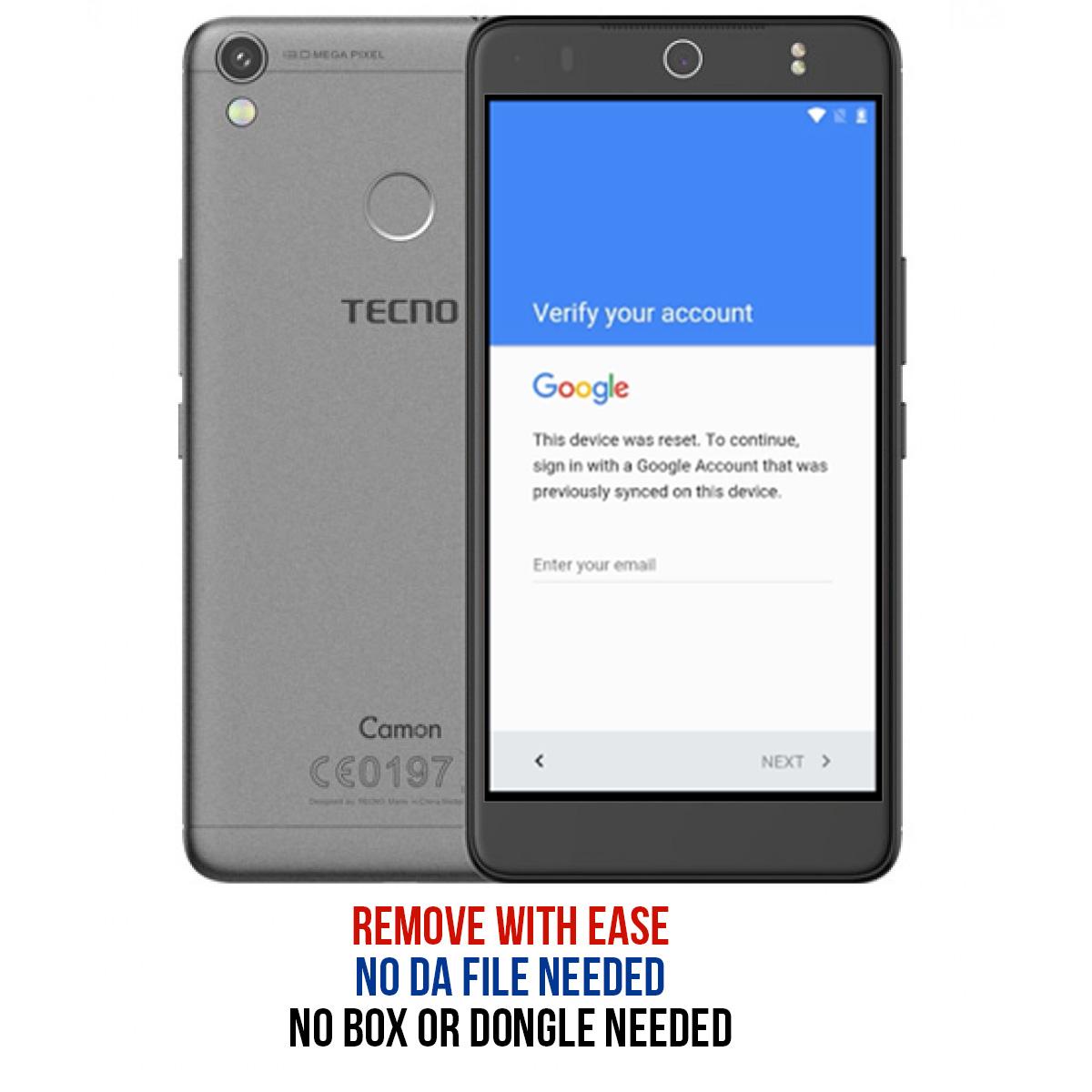RomKingz: Easiest way to remove frp (Google Account lock) on Tecno