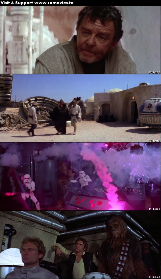Star Wars Episode IV - A New Hope 1977 Dual Audio Hindi 720p BluRay 1GB