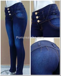 Jeans de Moda de mezclilla para mujer
