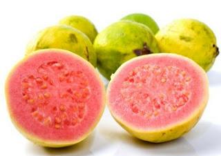 khasiat dari buah jambu biji merah