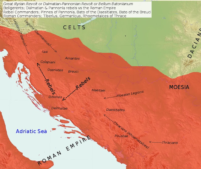 The Illyrian Uprising that shook the Roman Empire