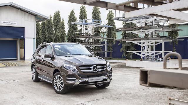 Mercedes GLE 400 4MATIC Exclusive có bước chuyển mình mới về thiết kế