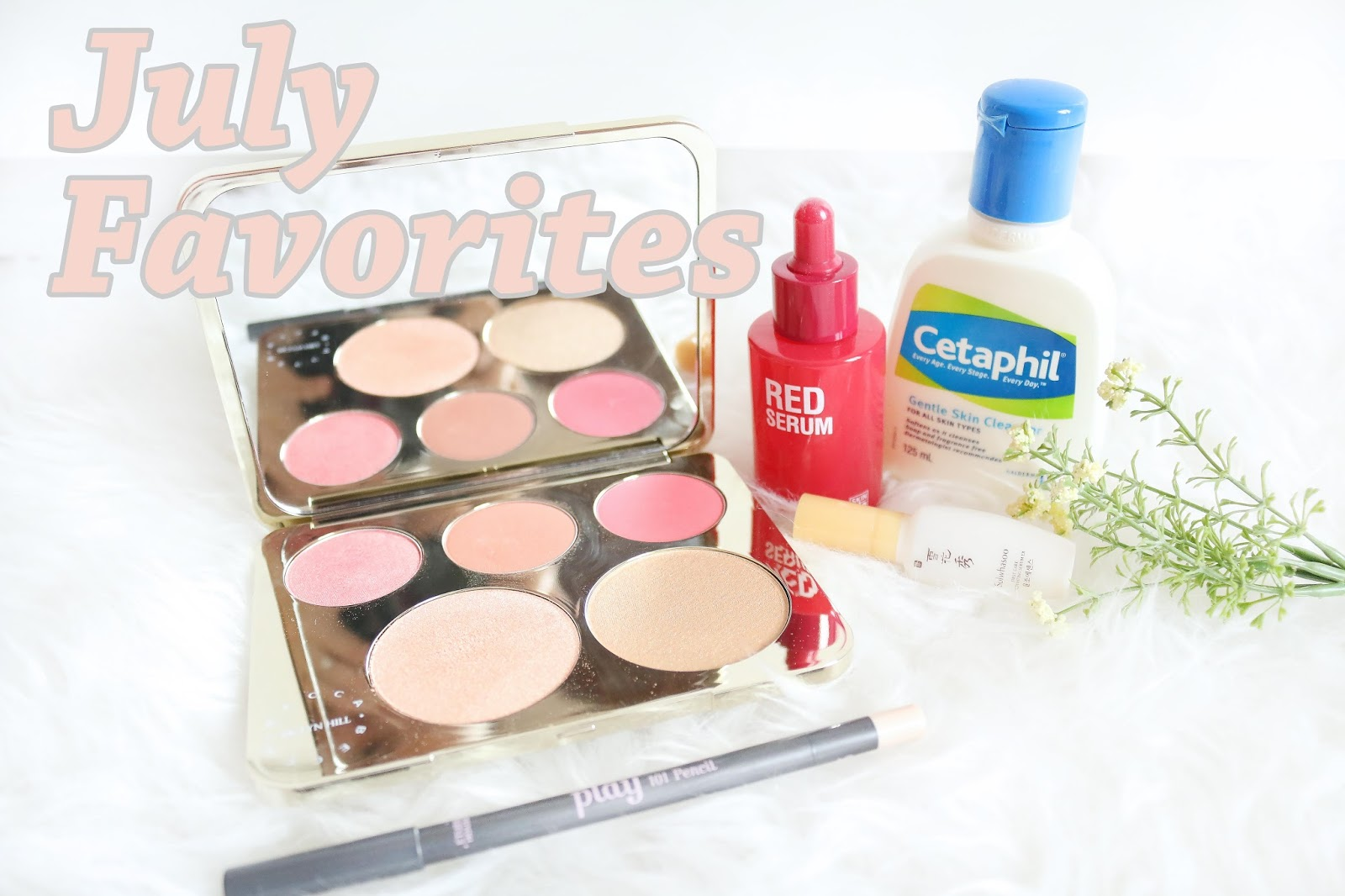 becca x jacklyn hill, skin lab red serum, red serum, cetaphil, cetaphil gentle skin cleanser, etude house, etude house play 101 pencil, sulwhasoo, sulwhasoo activating serum