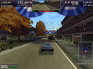 need for speed 3 hot pursuit for Windows 7 Driving a car