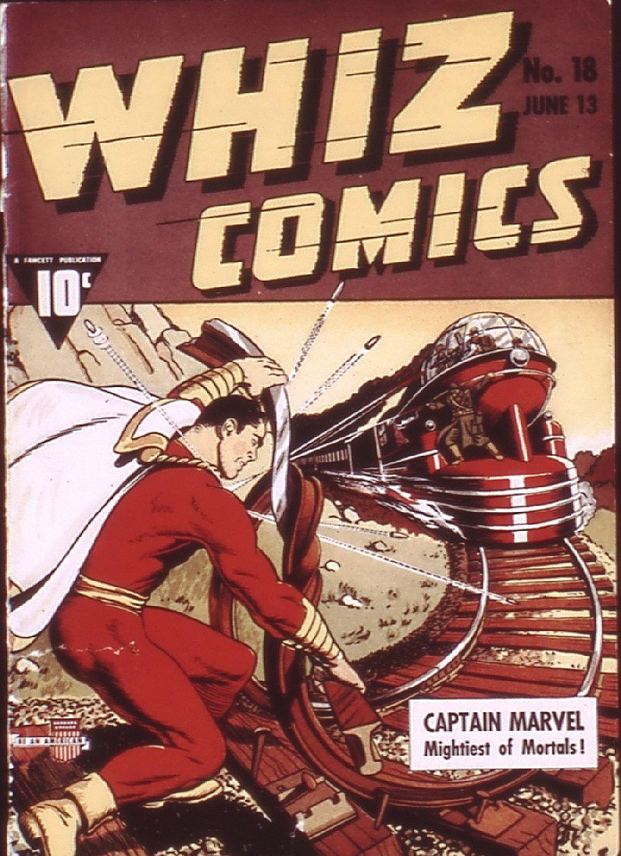 WHIZ Comics 18 Page 1