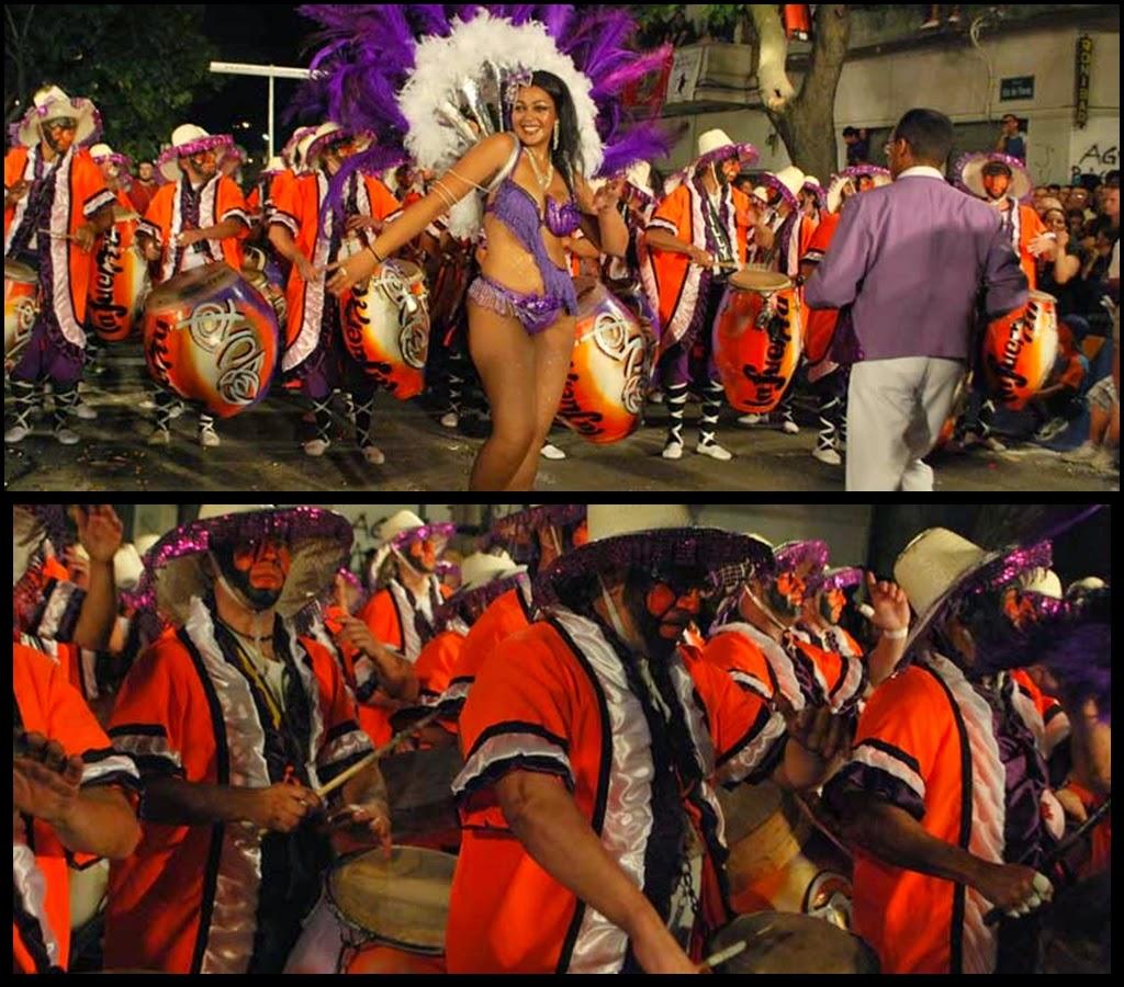 Desfile de Llamadas.La Fuerza. Montevideo. 2011