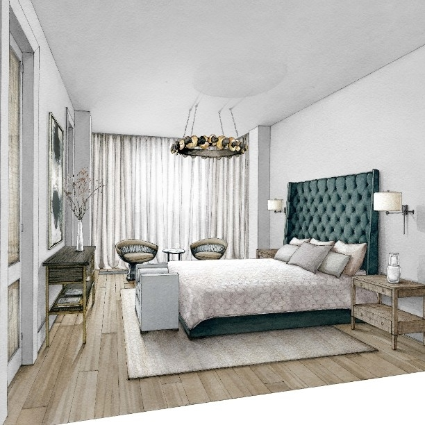 03-Master-Bedroom-Julia-Smolkina-Interior-Design-with-Mixed-Media-Drawings-www-designstack-co