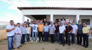 Algumas lideranças do Curimataú e Seridó se reúnem com Azevedo