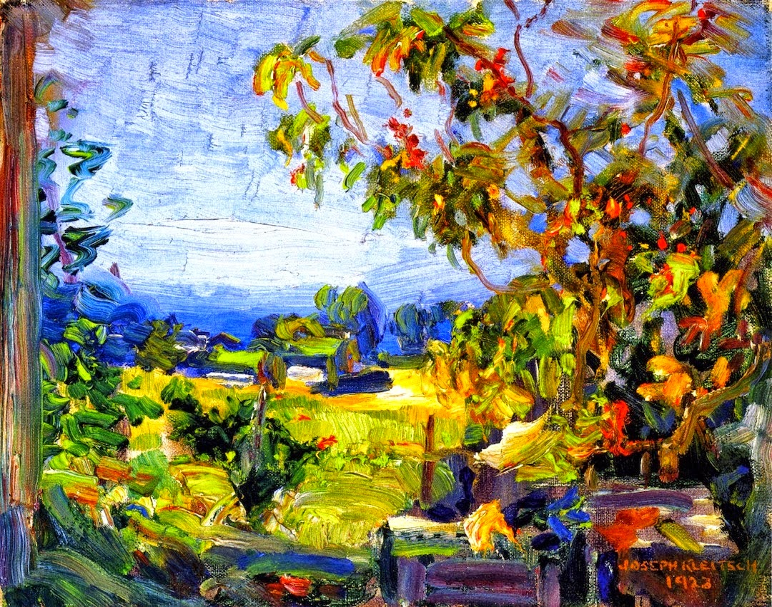 Joseph Kleitsch | A Plein Air painter
