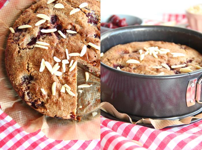 Buchweizenkuchen Mit Walnussen Und Kirschen Kirschbiene Kocht