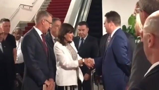 La nueva embajadora Gringa: Estoy muy agradecida y emocionada por el caluroso recibimiento