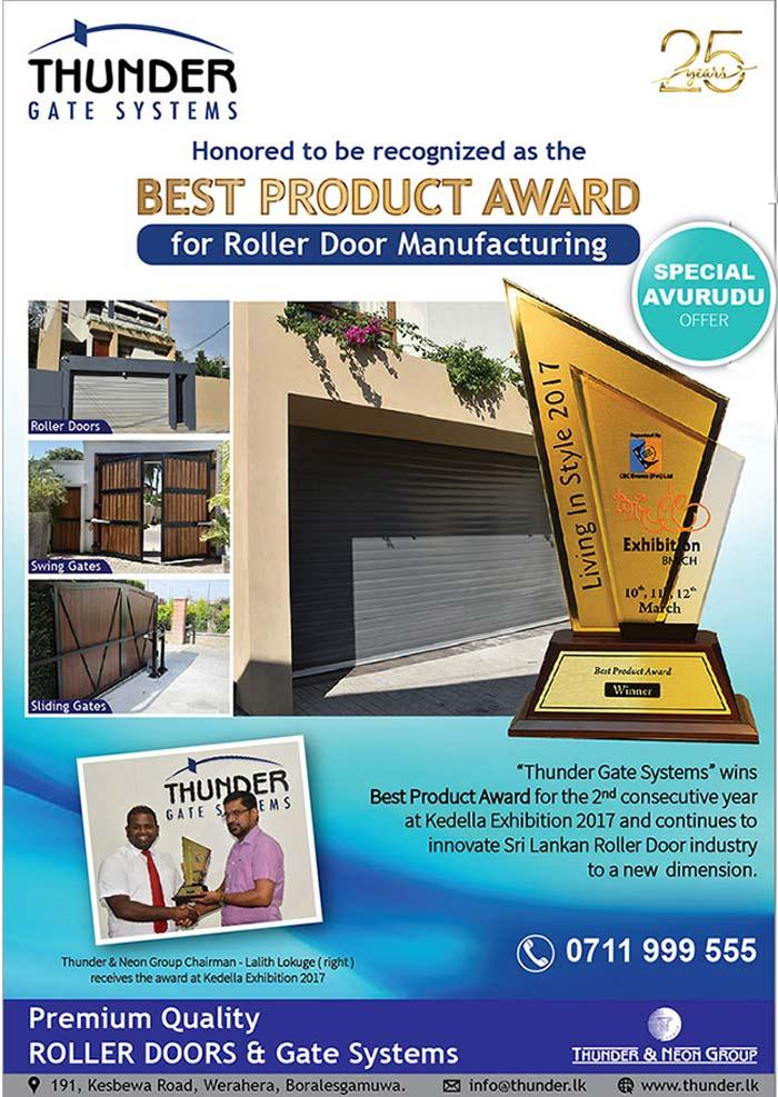 Thunder Gate | Award winning ROLLER DOORS and Gate Systems