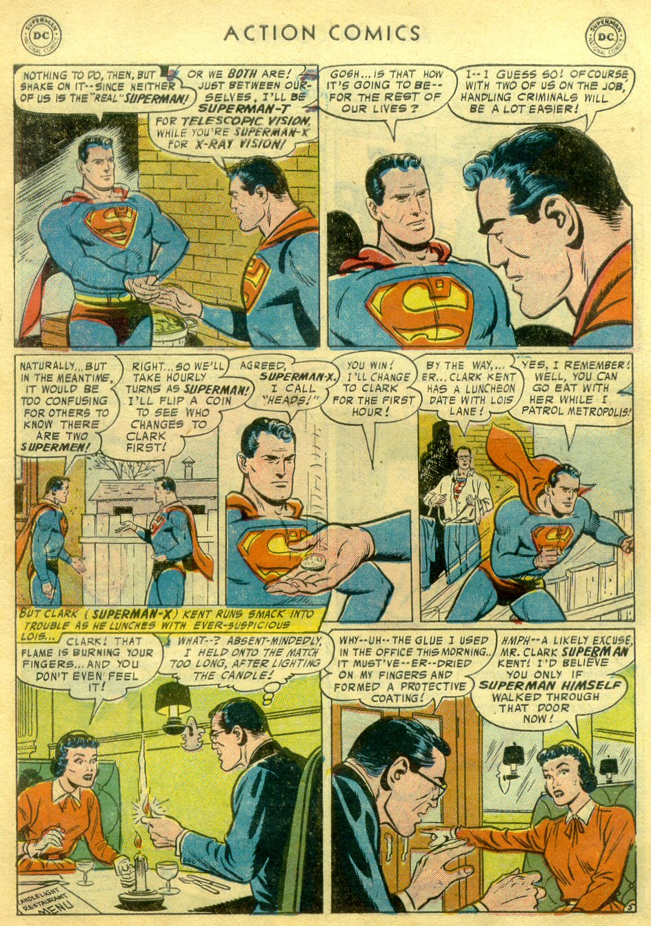 Read online Action Comics (1938) comic -  Issue #222 - 6