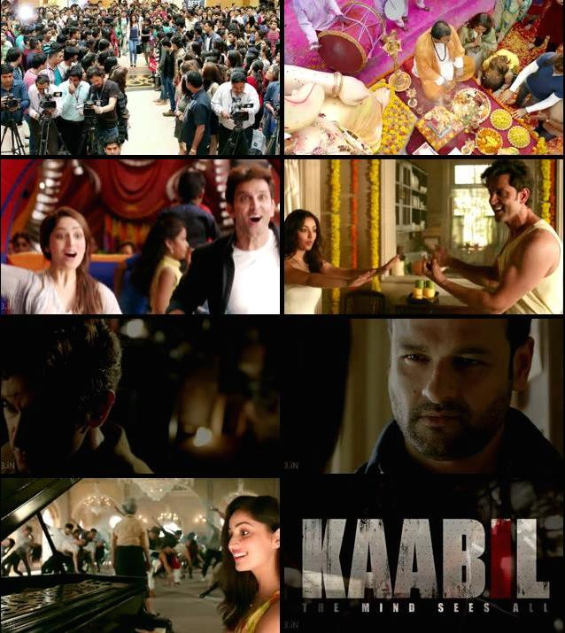 Kaabil Official Trailer 720p HD Download
