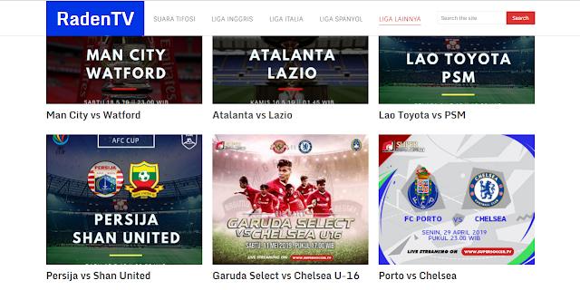 Situs Streaming Raden TV