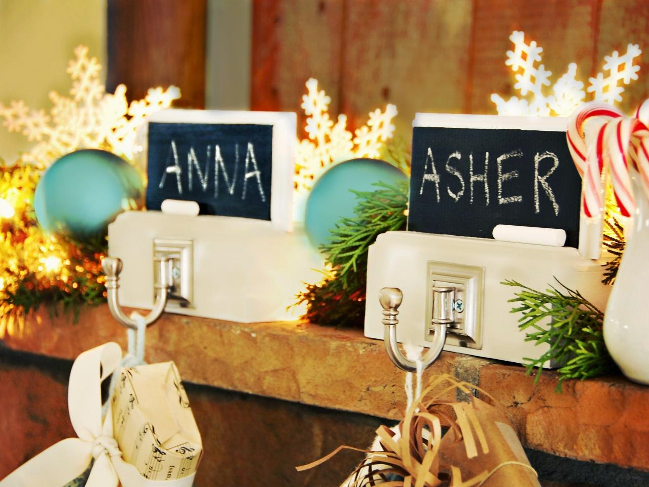 Cheap And Easy Christmas Stocking Holders That Will Get