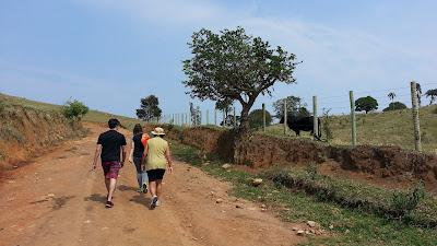 caminhadas em Bueno Brandão
