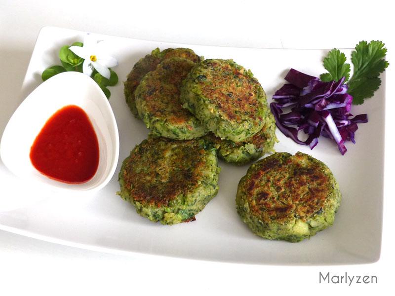 Hara bhara kabab (palets indiens végétariens)