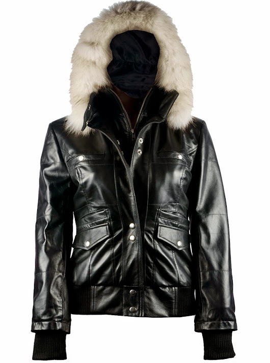 Buy Women Hooded Leather Jacket for Ultimate Protection and Style