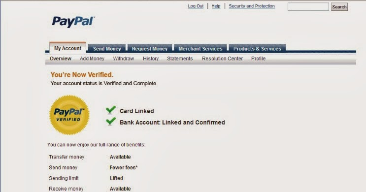 SSN, Bank account verified USA paypal accounts on sale, Over 200+