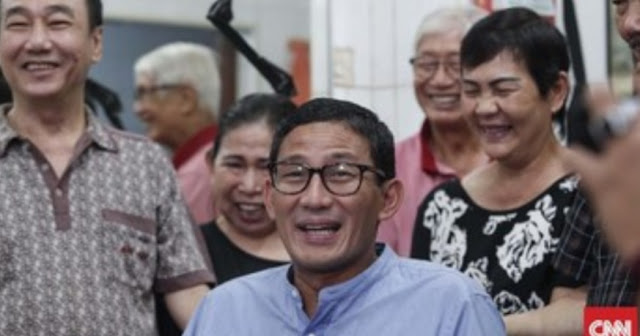 Sandi Sebut Kabar Ingin Masuk Kabinet Jokowi Cuma Spekulasi