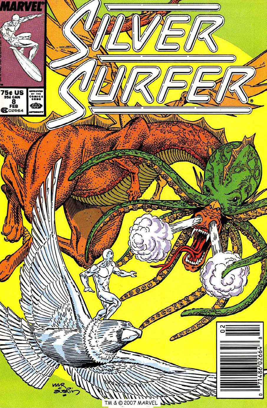 Silver Surfer (1987) issue 8 - Page 1