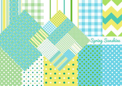 Spring Sunshine Fabrics for all your Craft and Sewing Projects