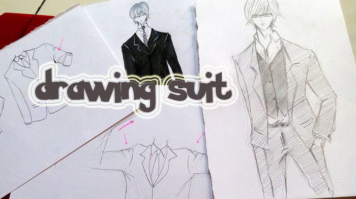 Cara menggambar jas ( suit ) - MAYAGAMI