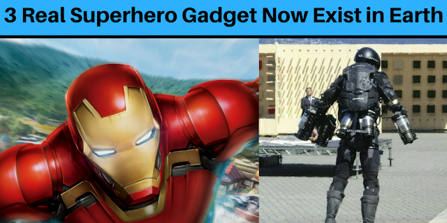 3 Real Superhero Gadget Now Exist in Earth