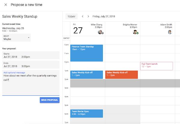 Google Calendar update (2)