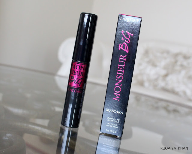 Lancôme Monsieur Big Mascara Review and Swatch