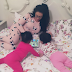 Ghanian Actress, Nadia Buari shares lovely photo with her twin daughters