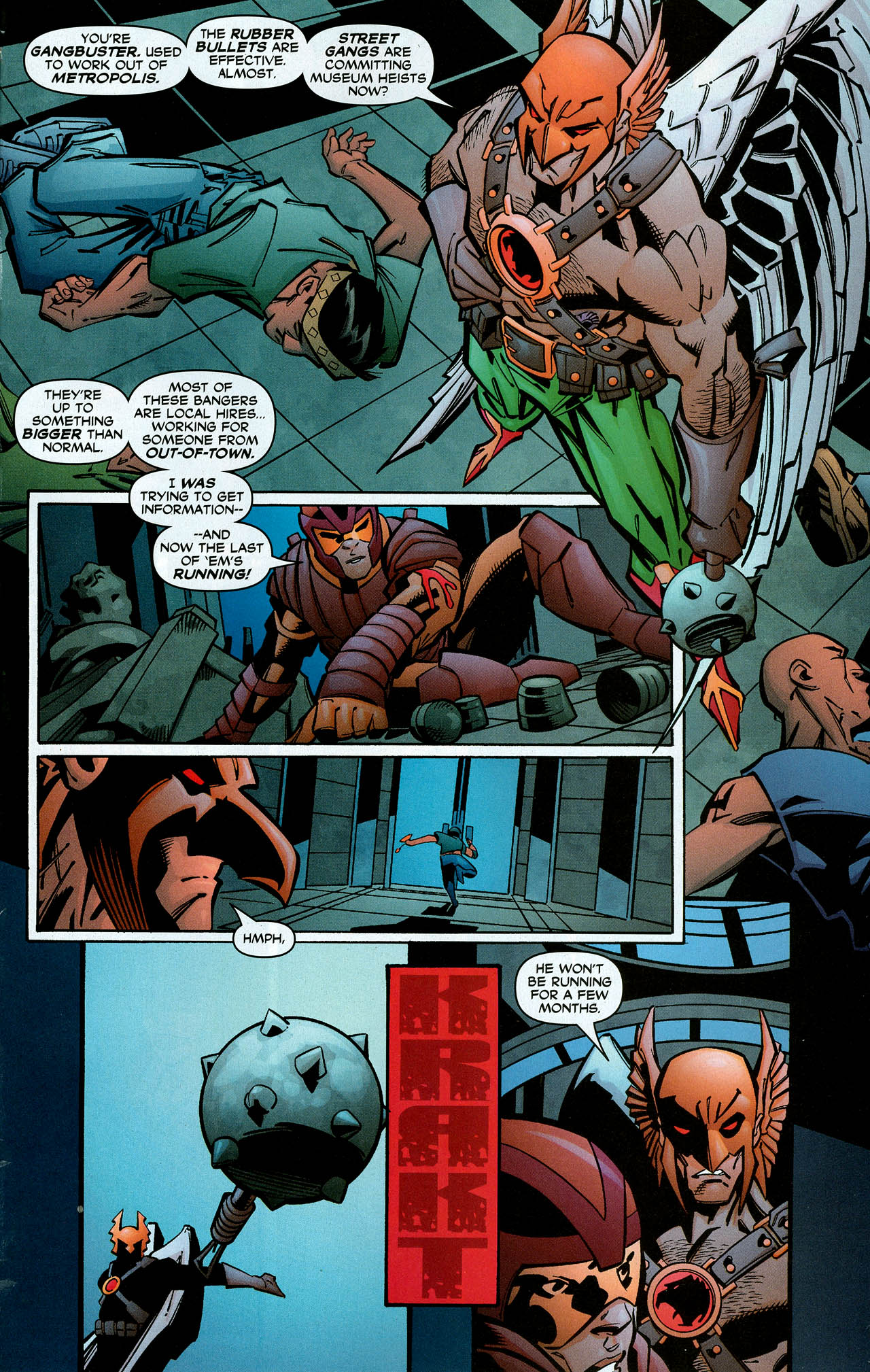 Read online Trinity (2008) comic -  Issue #6 - 27