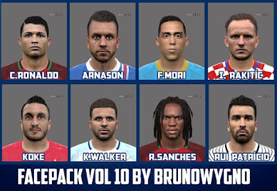 PES2016 Facepack Vol 10 by BrunoWYGNO