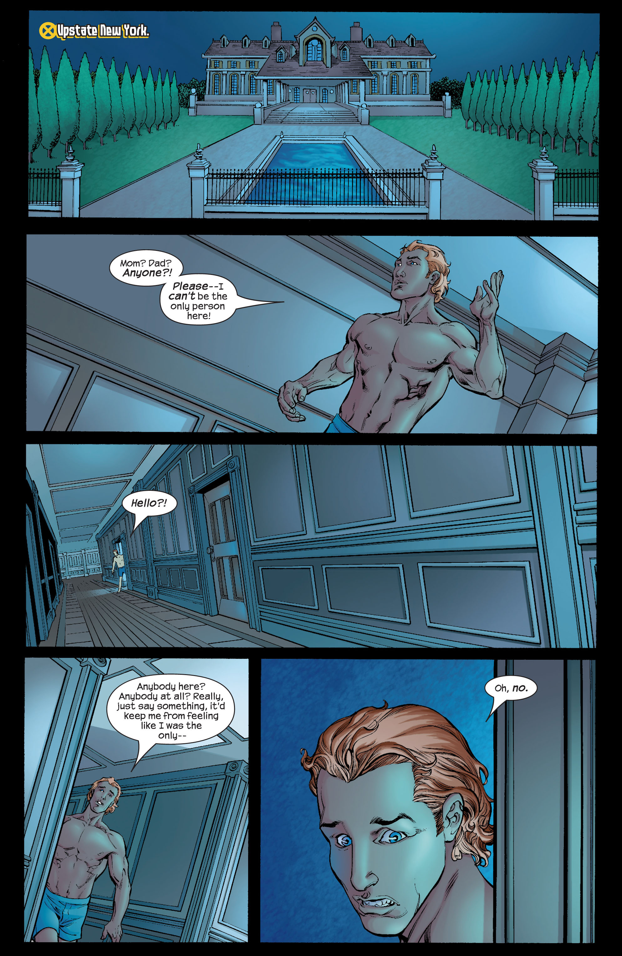 Read online Ultimate X-Men comic -  Issue #66 - 22