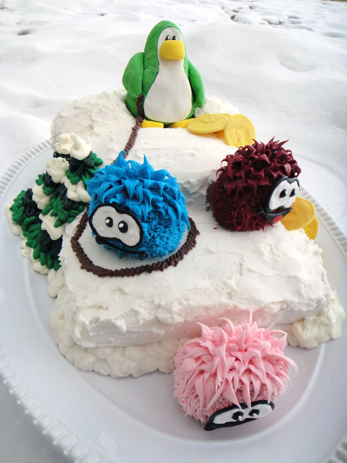 worth pinning club penguin cake