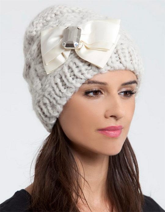 вязание шапочек модели