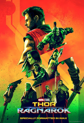 Marvel's Thor Ragnarok IMAX Theatrical One Sheet Movie Poster