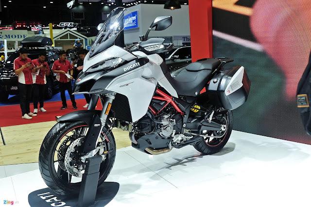 Cận cảnh môtô phượt tầm trung Ducati Multistrada 950 S