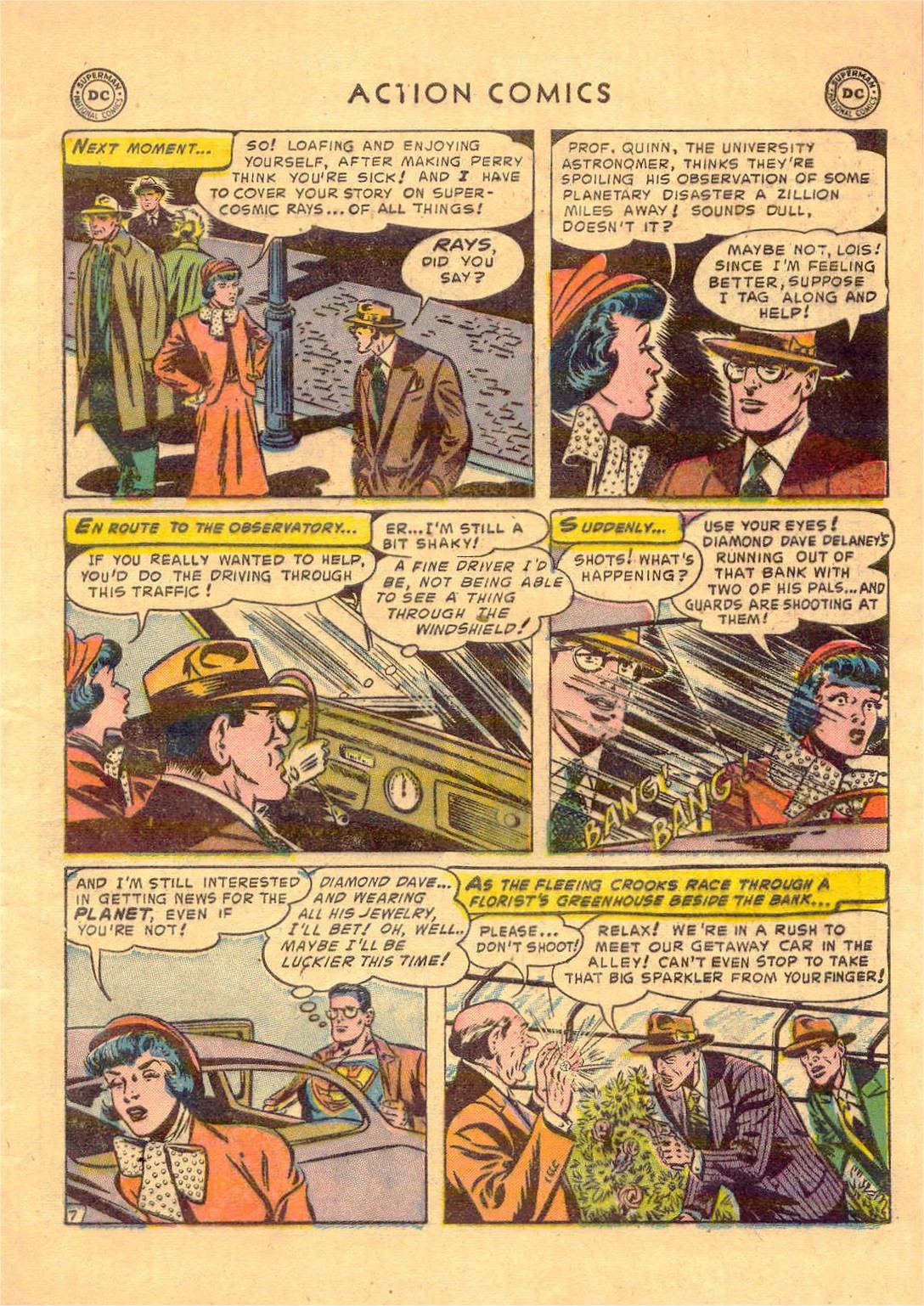 Read online Action Comics (1938) comic -  Issue #181 - 8