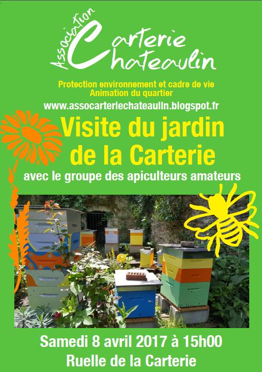 Association carterie chateaulin annulation de la visite for Bd du jardin botanique 50