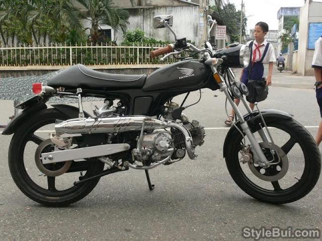 Xe 67 độ pô móc Honda CL Scrambler đẹp nhất
