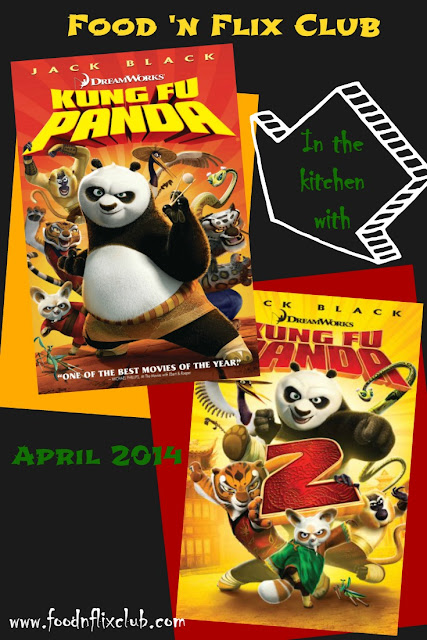In the kitchen with Kung Fu Panda for #FoodnFlix