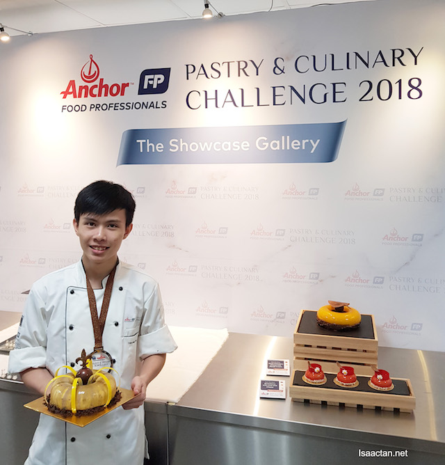 3rd Prize: Tan Shong Yee from Double Tree by Hilton KL