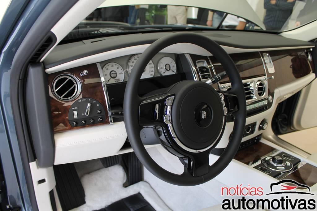 Rolls Royce Ghost Chega Ao Mercado Nacional Mas O Preco E A Vida