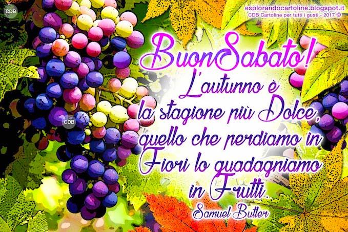 Cdb Cartoline Per Tutti I Gusti Cartolina Buon Sabato