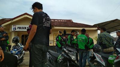 Terjadi Aksi Pemukulan dan Perampasan Terhadap Driver Go-Jek di Depan Kampus UIN Raden Intan Lampung